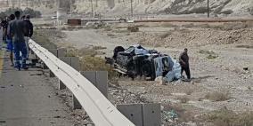 مصرع 3 إسرائيليين بحادث سير على طريق البحر الميت