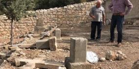 فرنسا تدين تدنيس مقبرة دير الساليزيان قرب القدس
