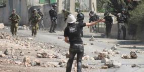 إصابة متضامن أجنبي في كفر قدوم