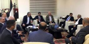 """""""فتح"""" تجتمع مع المخابرات المصرية في رام الله"""