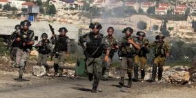 إصابات خلال قمع الاحتلال مسيرة نعلين