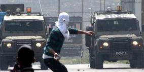 إصابات بالاختناق بمواجهات مع الاحتلال في عزون