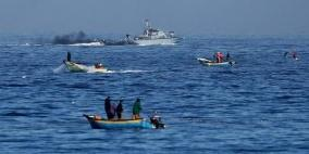 بحرية الاحتلال تعتقل صيادين قبالة بحر مدينة غزة