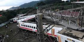 17 قتيلا بحادث انقلاب قطار في تايوان