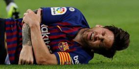 برشلونة يُطمئن جماهيره بعد إصابة ميسي