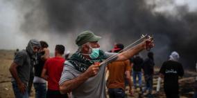 حماس تحد من المسيرات واسرائيل تعيد التسهيلات