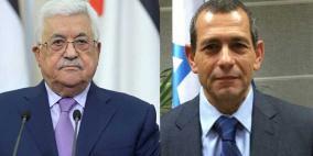 """رئيس """"الشاباك"""" يلتقي الرئيس عباس بمنزله في رام الله"""