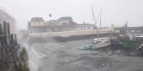"""الاعصار """"ويلا"""" يضرب سواحل المكسيك وإجلاء الآلاف"""