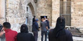 الاحتلال يعتدي على وقفة احتجاجية للأقباط بالقدس