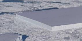 """اكتشاف جبل جليد """"لم تره عين"""" من قبل"""
