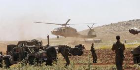 """الاحتلال يجري تدريبات عسكرية في """"غلاف غزة"""""""