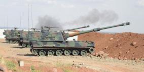 بعد هجوم داعش- الجيش التركي يقصف الأكراد شرق الفرات