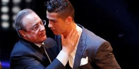 رونالدو يخرج عن صمته ويهاجم رئيس ريال مدريد