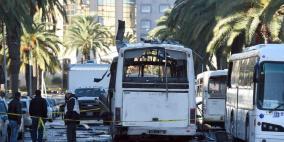 جرحى بهجوم انتحاري وسط العاصمة التونسية