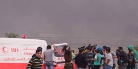 إصابة شاب شرق مخيم البريج في قطاع غزة
