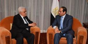 قمة بين الرئيسان عباس والسيسي غدا في القاهرة