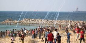 رغم جهود التهدئة- استمرار المسير البحري شمال غزة