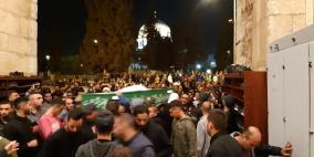 القدس: جماهير غفيرة تشيع ضحايا حادث أريحا