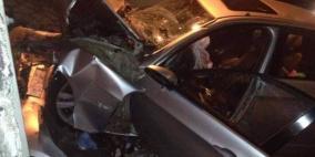 مصرع شاب واصابة آخر بحادث سير في رام الله
