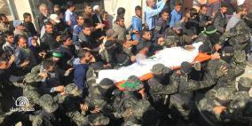الآلاف يشيعون جثامين شهداء معركة خانيونس