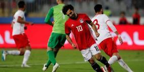 مصر تثأر من تونس بهدف صلاح في الوقت القاتل