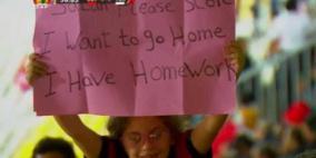 صلاح يرد على الطفلة المصرية صاحبة اللافتة