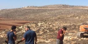 طريق استيطاني يهدد مئات الدونمات في نابلس
