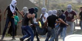إصابة شاب في مواجهات مع الاحتلال شمال رام الله