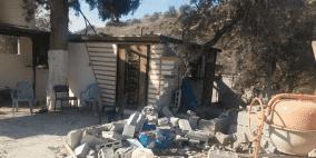 مستوطنون يلحقون أضرارا بمتنزه في نابلس