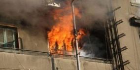 وفاة طفل إثر حريق في نابلس
