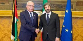 المالكي يطلع رئيس البرلمان الإيطالي على آخر التطورات