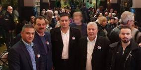 الجالية الفلسطينية في بريطانيا تشارك في احتفال يوم التضامن مع الشعب الفلسطيني