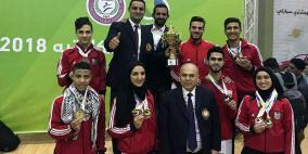 أكاديمية الاقصى تتصدر بطولة فلسطين للكاراتيه الرسمية في غزة