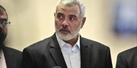 حماس تعلن تفاصيل لقاءات هنية مع المخابرات المصرية