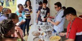 سفارة دولة فلسطين في جنوب افريقيا تشارك في البازار الخيري السنوي