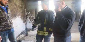الوعي المجتمعي حال دون وقوع ضحية بسبب حريق مدفأة شرق نابلس