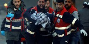 69 إصابة خلال مواجهات بمناطق متفرقة في الضفة