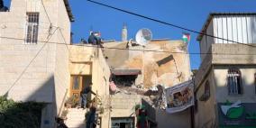 اصابات واعتقالات.. الاحتلال يفجر منزل عائلة أبو حميد