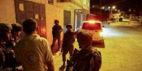 الاحتلال يعتدي على طاقم تابع للهلال الأحمر شمال رام الله