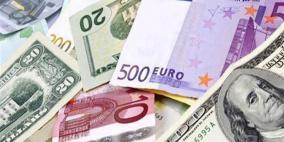 أسعار العملات المتداولة في السوق الفلسطيني