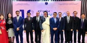 سفارة فلسطين في فيتنام تشارك في مهرجان إحياء اليوم العالمي للغة العربية