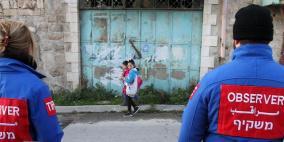 تقارير إسرائيلية: مطالبة وزارية بإنهاء مهام المراقبين الدوليين في الخليل