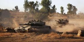 توغل محدود لآليات الاحتلال شمال بيت لاهيا
