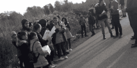التربية تستنكر منع طلبة ظهر المالح في جنين الوصول لمدرستهم