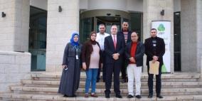 """مجموعة الاتصالات تدعم مشروع تنموي لمجلس قروي """"أبو شخيدم"""""""