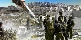 538 بيتاَ ومنشأة هدم الاحتلال خلال العام 2018