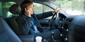 62% من السائقين يستقبلون مكالماتهم اثناء القيادة