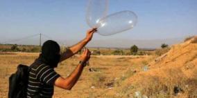 تقارير إسرائيلية: تجدد إطلاق البالونات الحارقة من غزة