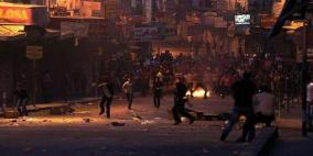 إصابة شاب بالرصاص الحي خلال مواجهات في مخيم جنين