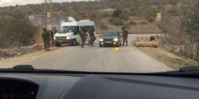 الاحتلال يغلق المدخل الشمالي لبلدة تقوع في بيت لحم